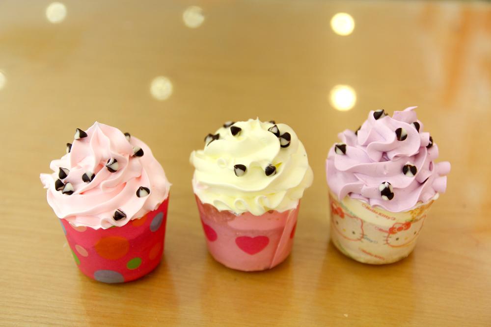 Cupcake & cream