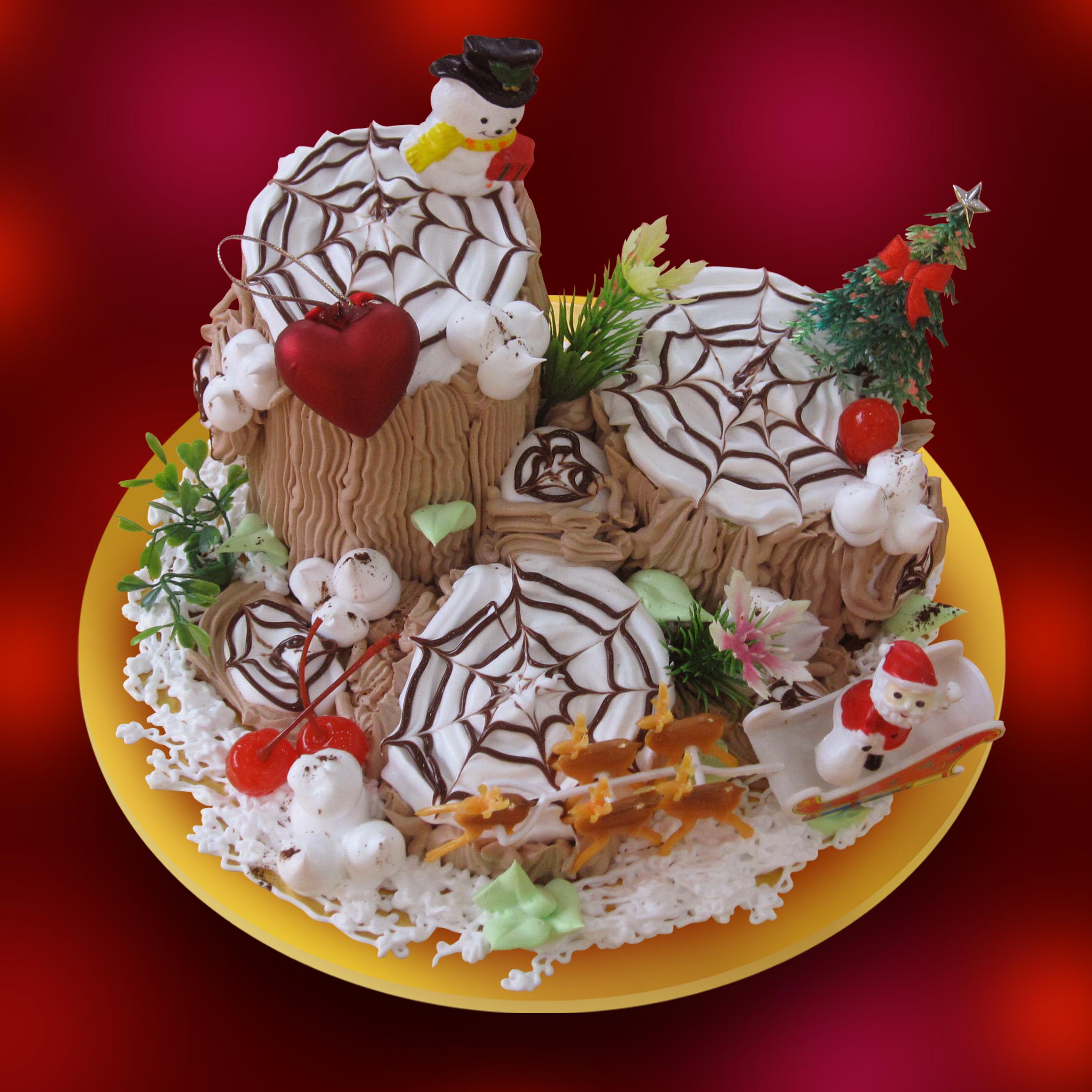 Bánh Noel Gốc Cây